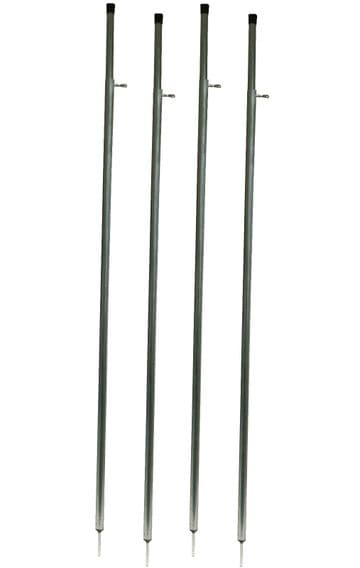 4 x CARAVAN AWNING CANOPY UPRIGHT TELESCOPIC SUPPORT LEG POLES tent camping
